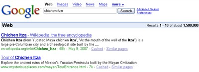 chichen itza google search
