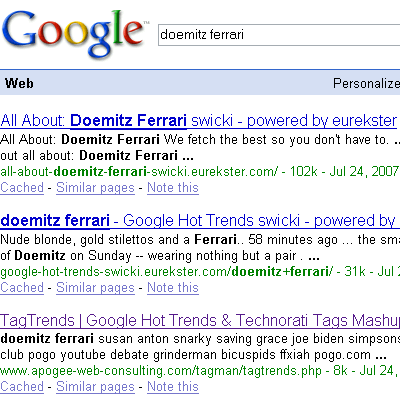 doemitz ferrari search