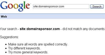 domain sponsor site