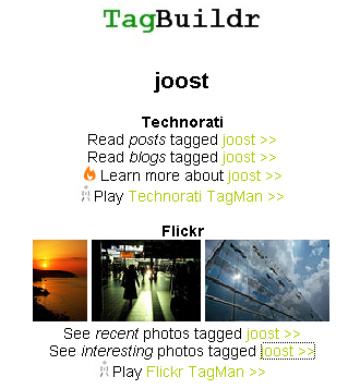 joost tag