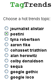 postini on tagtrends