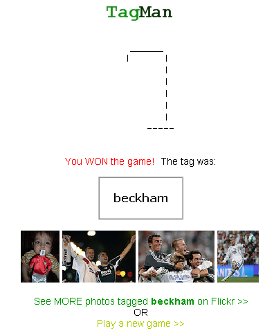 flickr tagman beckham tag