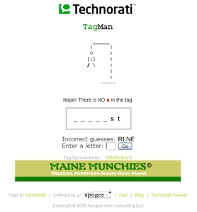 technorati tags game